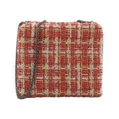 Chanel Frame Evening Bag Tweed Small