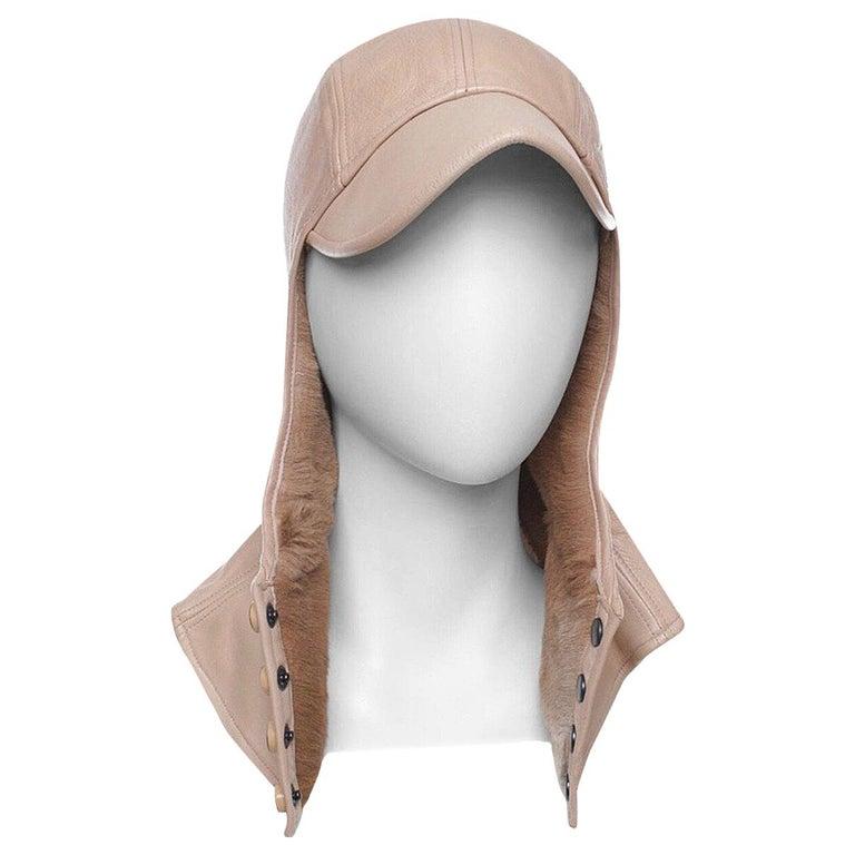 Chanel fur cap For Sale