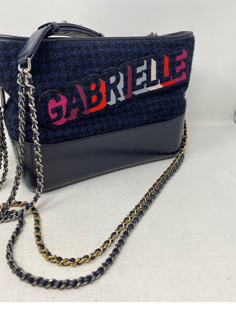 Black Chanel Gabrielle Bag  For Sale