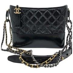Chanel Gabrielle Handbag- Black