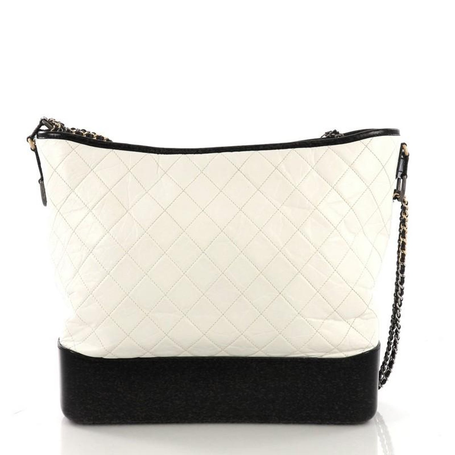 6e9e2f10b688 Chanel Gabrielle Hobo Quilted Aged Calfskin Large at 1stdibs
