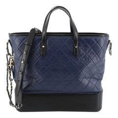 Chanel Gabrielle Shopping Tote Quilted Calfskin Large