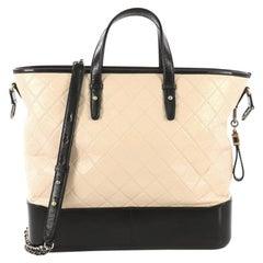 f911fa174599 Chanel Gabrielle Shopping Tote Quilted Calfskin Medium