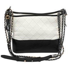 CHANEL Gabrielle Two-Color Bag