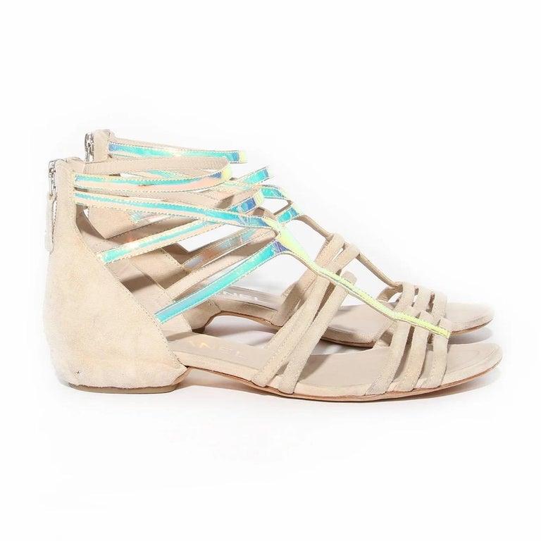 Chanel Gladiator Sandal SS2012 For Sale 1