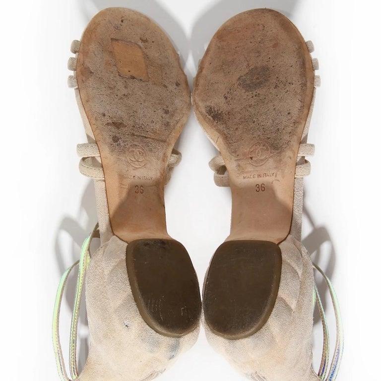 Chanel Gladiator Sandal SS2012 For Sale 2