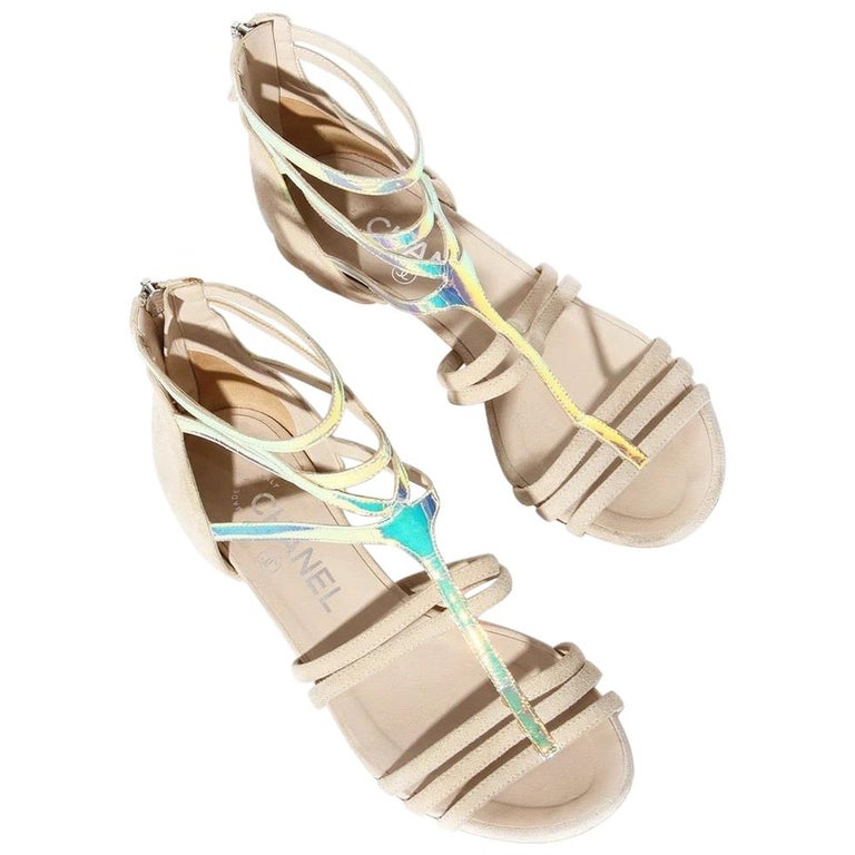 Chanel Gladiator Sandal SS2012 For Sale