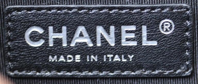 Chanel Glazed Calfskin Leather Boy Flap Bag For Sale 6