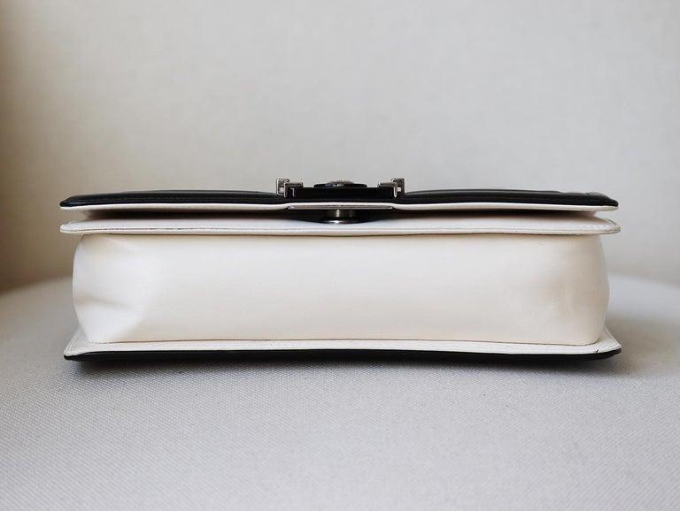 Chanel Glazed Calfskin Leather Boy Flap Bag For Sale 1
