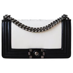 Chanel Glazed Calfskin Leather Boy Flap Bag
