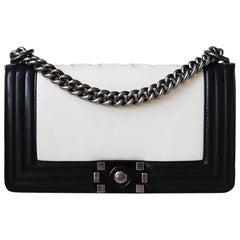 Chanel Glazed Calfskin Leather Boy Flap Bag