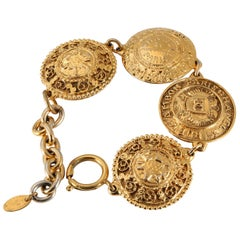 Chanel Gold Coins Bracelet