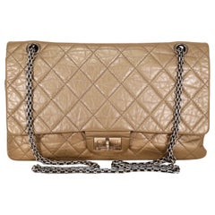 Chanel Gold Lambskin Reissue Flap Bag