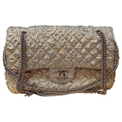 Chanel Gold Limited Edition Lamé Bag