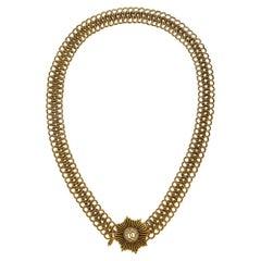 Chanel Gold metal belt