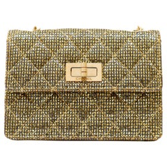 Chanel Gold Mini Reissue Runway Flap Bag
