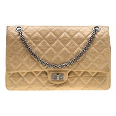 CHANEL Gold Reissue 2.55 Quilted Leather 226 Flap Bag