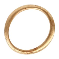 CHANEL gold-tone Ring Size 7.25