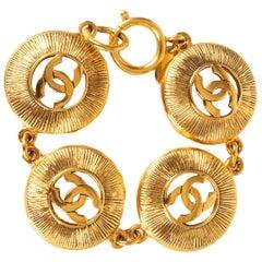 CHANEL gold-tone Vintage Bracelet