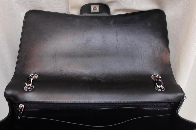 Chanel gorgeous black patent leather, 2009 – 2010 For Sale 6