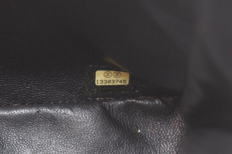 Chanel gorgeous black patent leather, 2009 – 2010 For Sale 9