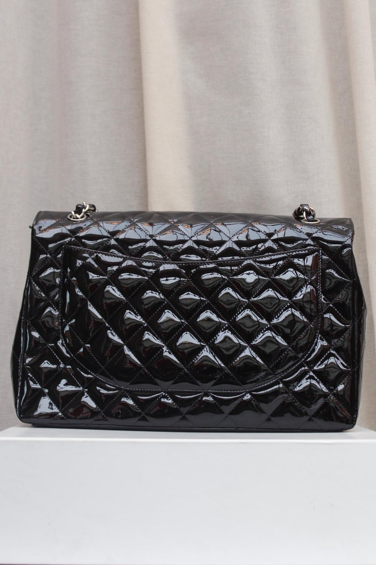 Women's Chanel gorgeous black patent leather, 2009 – 2010 For Sale