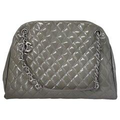 Chanel Gray Just Mademoiselle Handbag