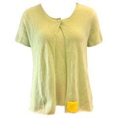 Chanel Green Cashmere Twin Sets
