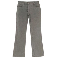 Chanel grey bootcut jeans - Size US 6