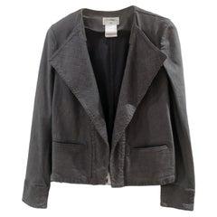 Chanel grey denim jacket