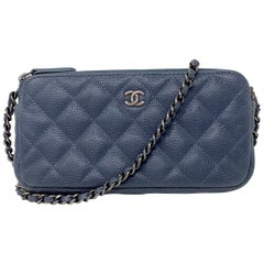 Chanel Grey Mini Crossbody Bag