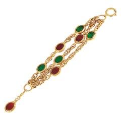 Chanel Gripoix Vintage Bracelet