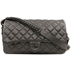 CHANEL Handbag Grained Leather