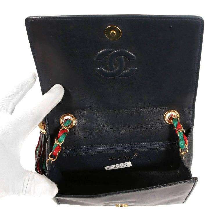 Chanel Harlequin Vintage Flap Bag For Sale 2