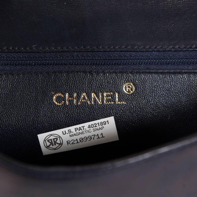 Chanel Harlequin Vintage Flap Bag For Sale 4
