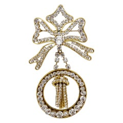 Chanel 1980s Haute Couture Statement Brooch
