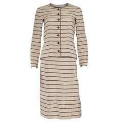 Chanel Haute Couture Skirt Suit, 1974
