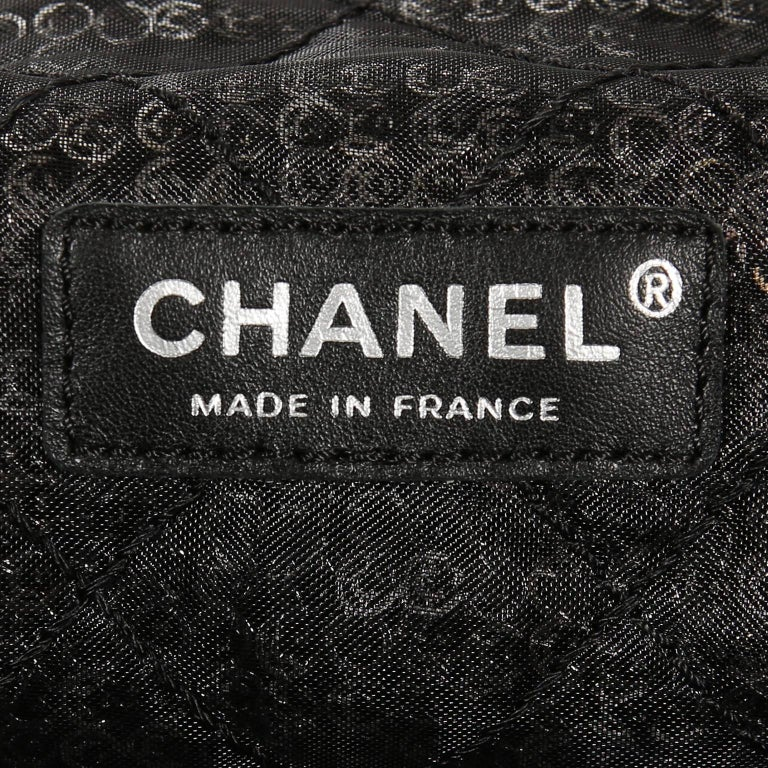 Chanel Hidden Sequins Jumbo Classic Flap Bag For Sale 4