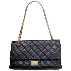 Chanel iconic cracked patent leather 2.55 bag, 2006/2008
