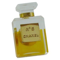 Chanel Iconic No. 5 Perfume Bottle Pin Brooch