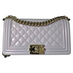 Chanel Iridescent Calfskin Medium Boy Bag