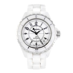 Chanel J12 a Fine White Ceramic Ladies Automatic Wristwatch