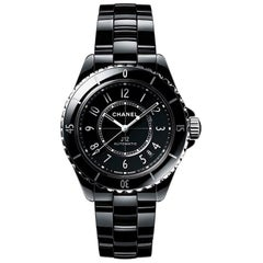 Chanel J12 Black Automatic Ladies Watch H5697