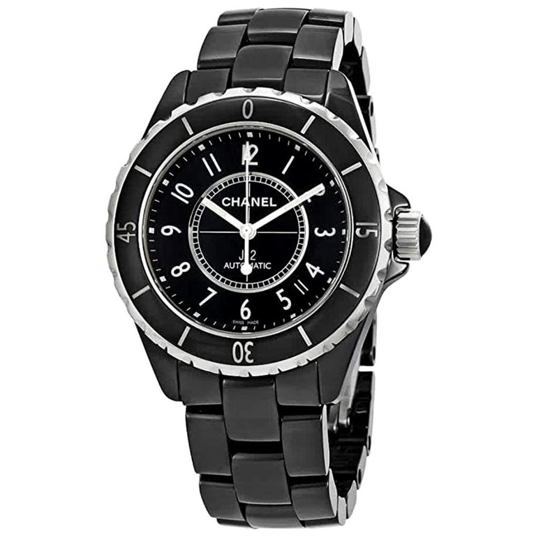 Chanel J12 automatic unisex watch, 2010, offered by Monalisa Jewelry Inc.