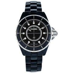 Chanel J12 Black Ceramic 'H2124'