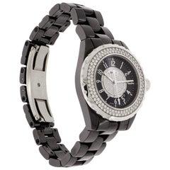 Chanel J12 Black Ceramic Wristwatch