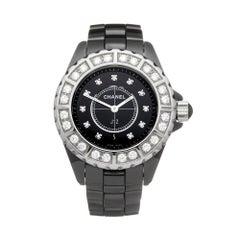 Chanel J12 Ceramic Diamond H2427 Wristwatch