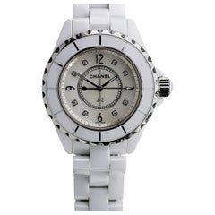 Chanel J12 Ceramic Diamond Luxury Watch