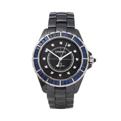 Chanel J12 Ceramic Sapphire H3122 Wristwatch
