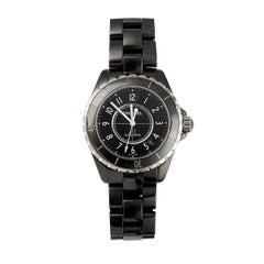 Chanel J12 Ceramic Steel Black H0685 Automatic Wristwatch